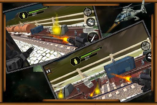 列車の攻撃:ガンシップ戦争 玩動作App免費 玩APPs