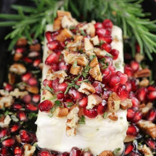 Pomegranate Pecan Party Appetizer.