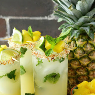 Pineapple Coconut Mojito.