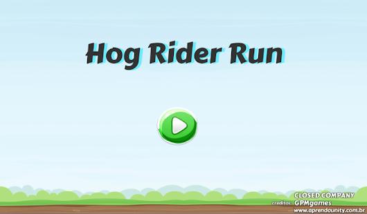 Hog Rider Run - náhled