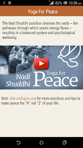 Yoga tools from Sadhguru App Latest Version  Download For Android 3