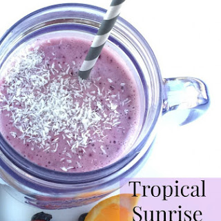 Tropical Sunrise Smoothie Delight