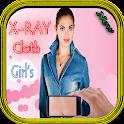 X-Ray Cloth Girl's -prank icon