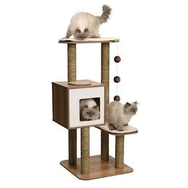 Vesper V-high Base Cat Condo  #vespervhighbase #vespercat #vespercatfurniture #vespercatcondo