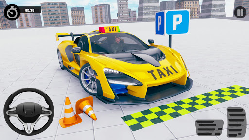 Taxi Parking Games: Modern Car Parking Drive 1.0.2 screenshots 1