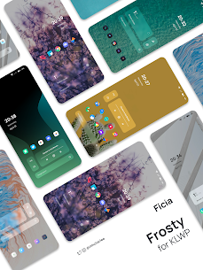 Frosty for KLWP Paid Apk 3