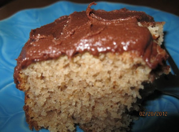 TO MAKE FROSTING: MELT CHOCOLATE ADD SOFT BUTTER, STIR IN 1/3 OF PACKAGE OF...