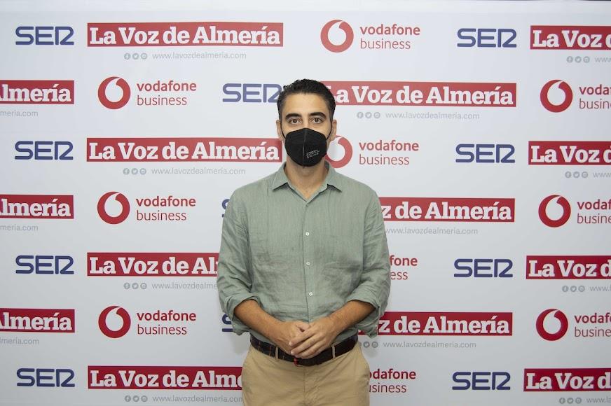 Joaquín Pérez de la Blanca, concejal del Ayuntamiento de Almería.