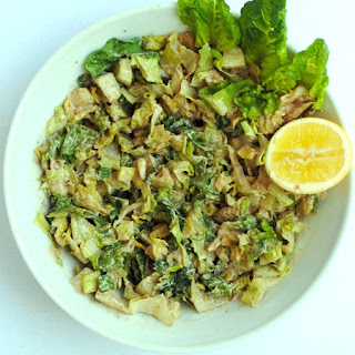 Creamy Sunflower Caesar Salad