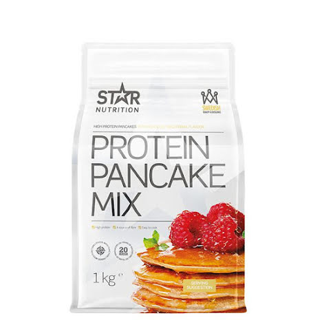 Star Nutrition Protein Pancake Mix, 1kg - Traditional Flavour