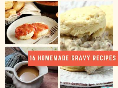 16 Homemade Gravy Recipes