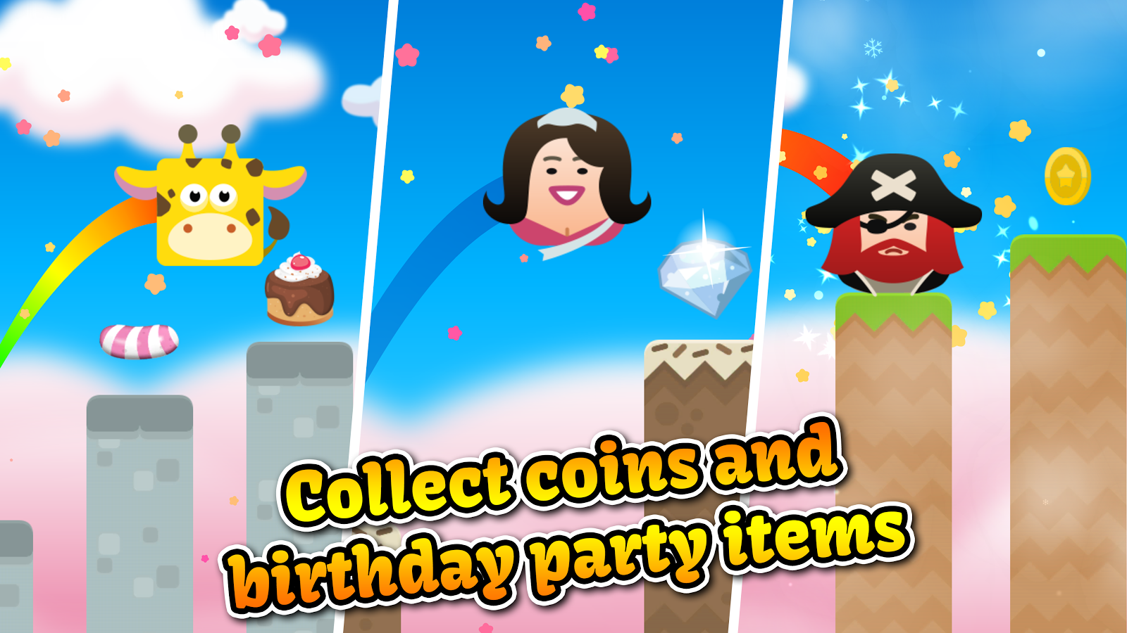 Jump Birthday Party Ninja- screenshot