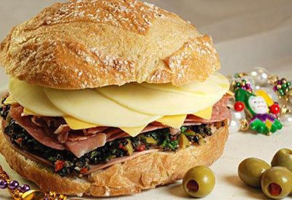 Muffuletta Sandwich Recipe