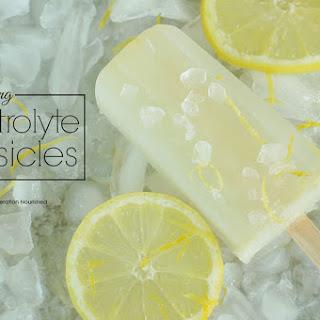 Rehydrating Eletrolyte Popsicles.