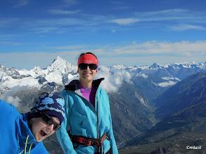 Photo: Zermatt, Tasch and Jungfrau on the horizon