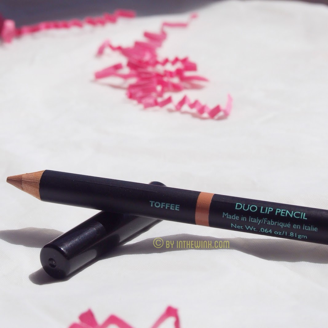 Vincent Longo Duo Lip Pencil in Toffee and Toast