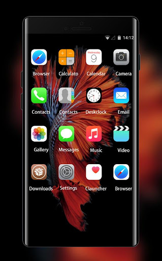 Wallpaper for iphone 6:IOS launcher for New iphone 1.0.3 screenshots 2
