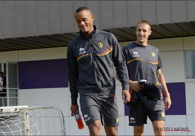 """L'éloge de l'ancien capitaine des Diables à Kompany: """"Techniquement aussi fort que De Bruyne ou Hazard"""""""