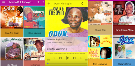 Listen to evergreen albums of Mama D.A Fasoyin.