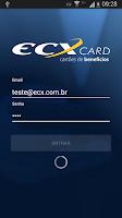 Screenshot of ECX Card