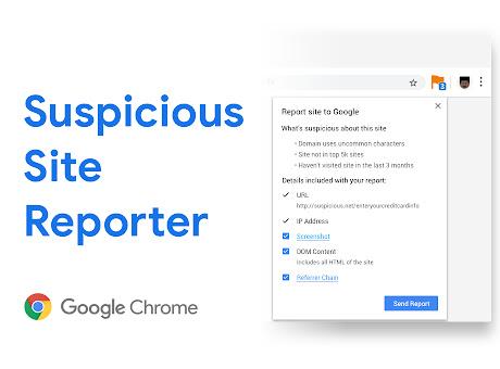 Suspicious Site Reporter