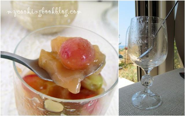 Палузес (παλουζές) или кисел от грозде