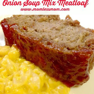 Onion Soup Meatloaf- Perfect Meal Idea for Fall!.