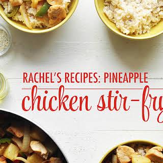 Pineapple Chicken Stir Fry.