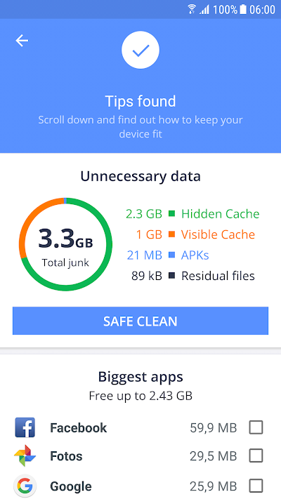 avast cleanup & boost apk download