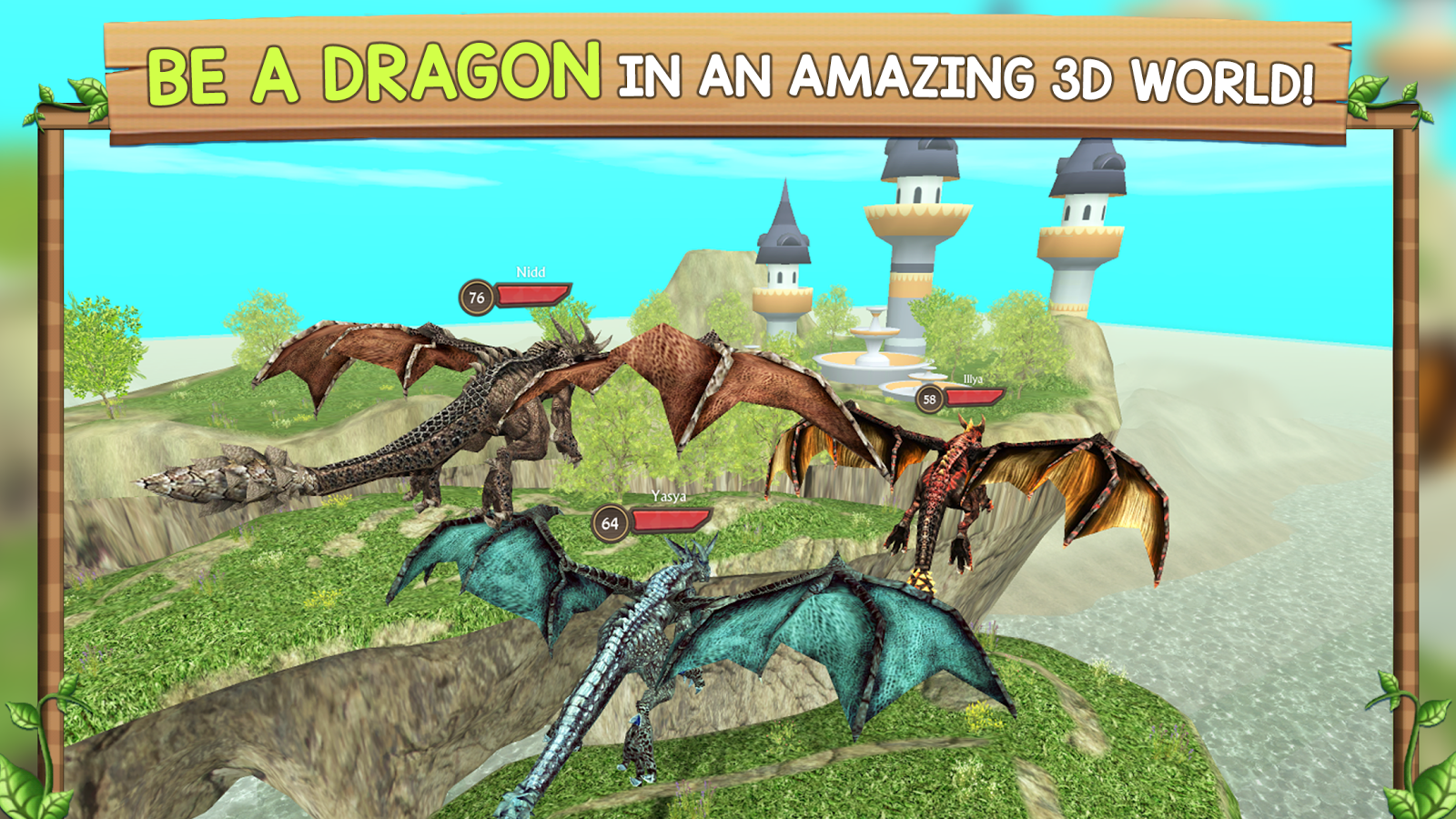 Dragon Sim Online Be A Dragon - Android Apps On Google Play