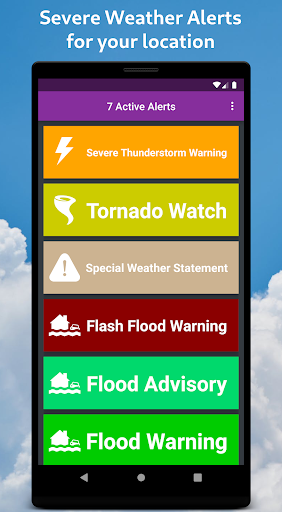 Severe Weather Alerts 1.73 screenshots 1