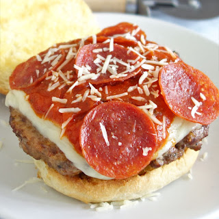 Pizza Burgers With Ground Beef Recipes.