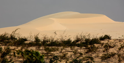 Photo: Year 2 Day 21  -  The First Lot of Sand Dunes on the Dirt Track from Phan Ri Cua #2