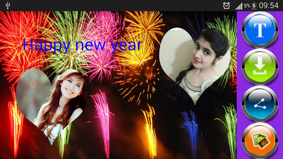 Download New Year Greeting Photo Frames For PC Windows and Mac apk screenshot 2