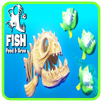 feeding and growing fishes icon
