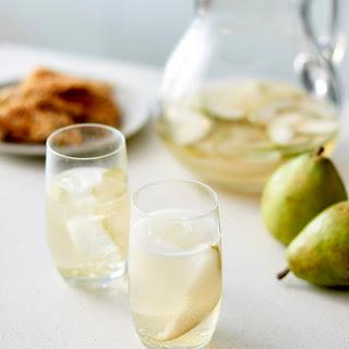 Sparkling Pear Hanukkah Sangria.
