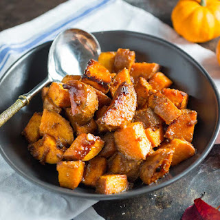 Roasted Sweet Potatoes With Miso Butter and Maple
