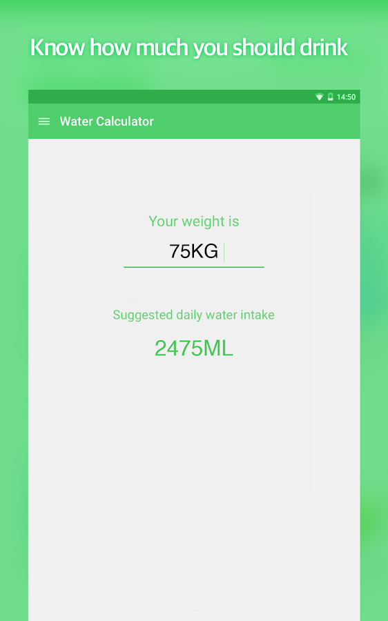 Water Your Body- screenshot