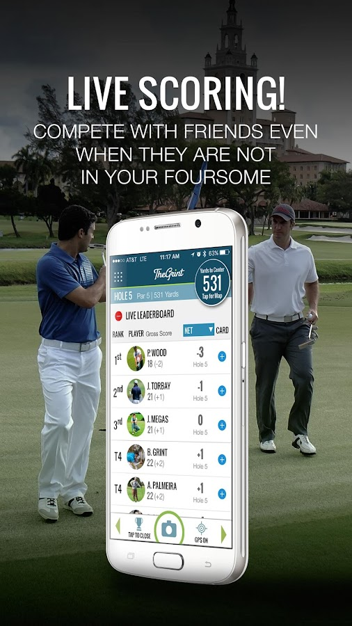 TheGrint, Golf Handicap & GPS- screenshot