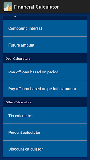 Financial Calculator Plus