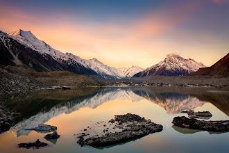 Photo: Glacier Lake, New Zealand