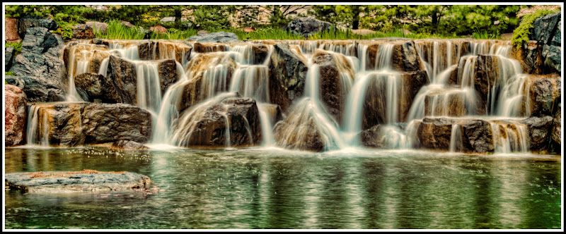 Photo: I guess overcast days are good for taking waterfall shots