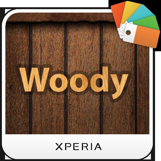 XPERIA™ Woody Theme