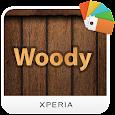 XPERIA™ Woody Theme apk