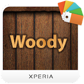 XPERIA™ Woody Theme