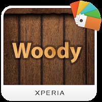 Xperia™テーマ – Woody