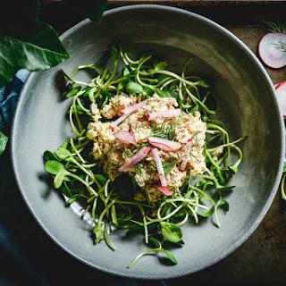 Tuna Salad With Apple, Dill And Lemon Vinaigrette.