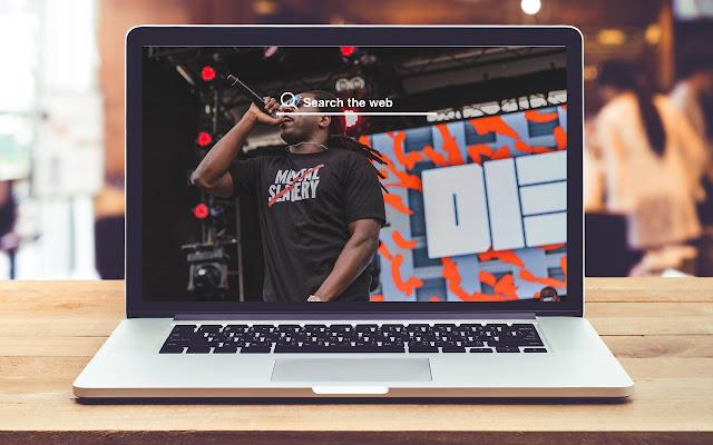 Bugus HD Wallpapers New Tab Theme