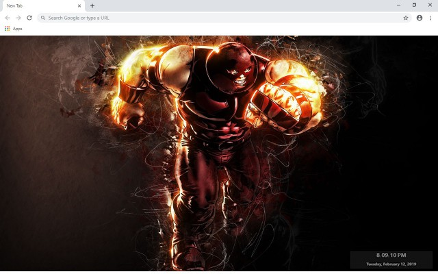 Juggernaut New Tab & Wallpapers Collection