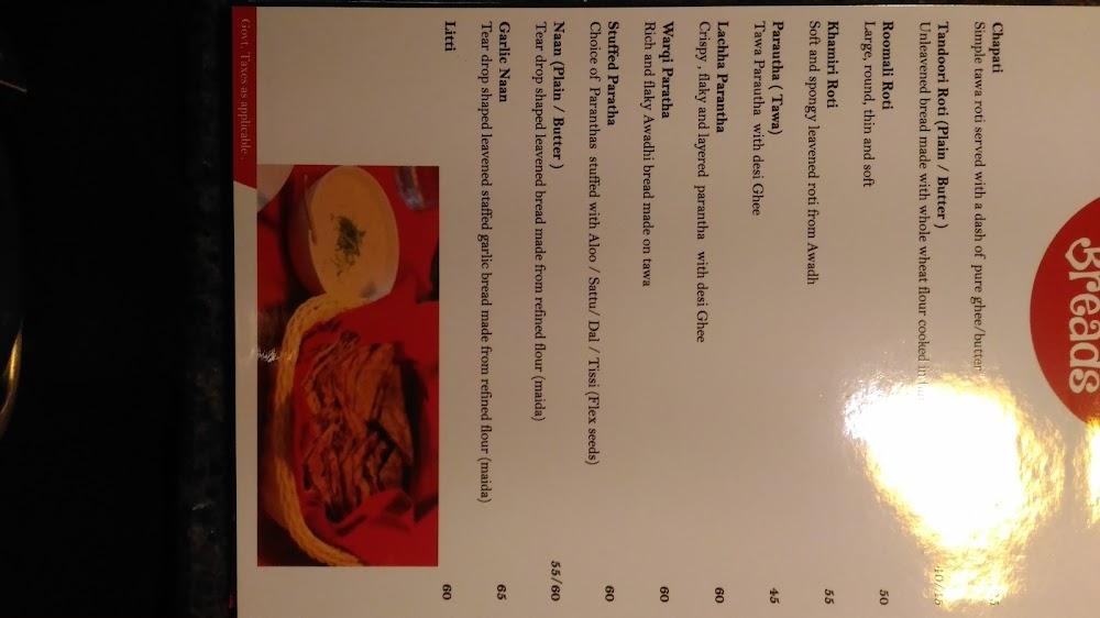 Magadh & Awadh menu 5
